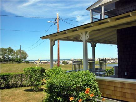 Oak Bluffs Martha's Vineyard vacation rental - View of Oak Bluffs harbor from the other side of the porch