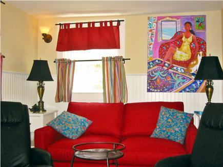 Oak Bluffs Martha's Vineyard vacation rental - Back downstairs cozy TV room