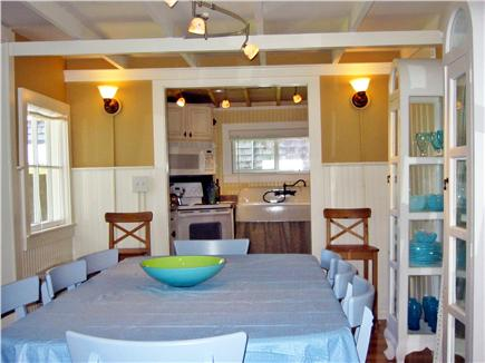 Oak Bluffs Martha's Vineyard vacation rental - Dining room, with view of park and harbor