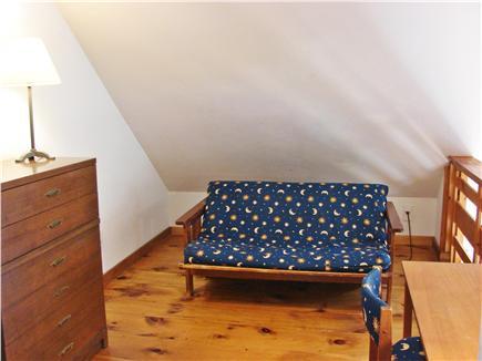 West Tisbury, Stoney Hill Lane Martha's Vineyard vacation rental - Loft on 2nd floor with futon