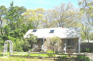 Oak Bluffs Martha's Vineyard vacation rental - The Sea Star: 3-minute walk to Lagoon shown above