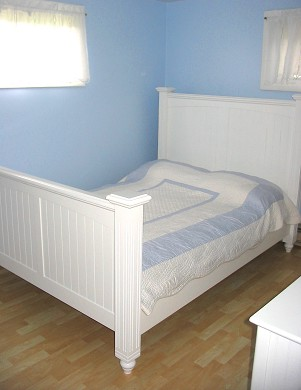 Oak Bluffs Martha's Vineyard vacation rental - 2 of 3 bedrooms;  full bed with featherbed topper