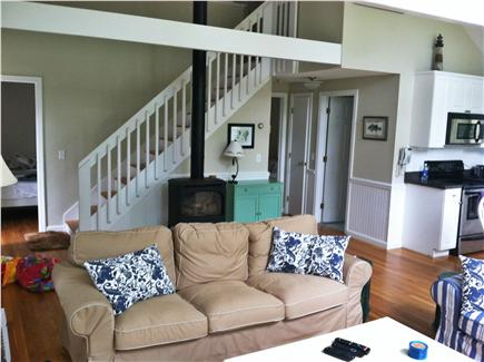 Katama - Edgartown Martha's Vineyard vacation rental - Open living and dining overlooking private yard