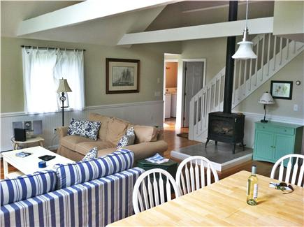 Katama - Edgartown Martha's Vineyard vacation rental - Living area and dining area