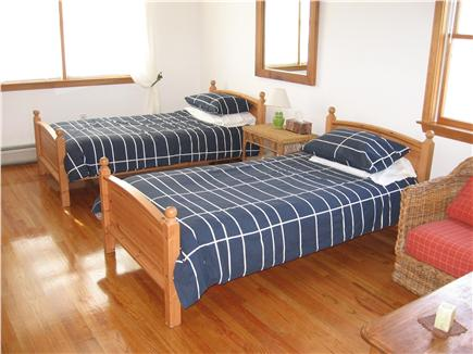 West Tisbury Martha's Vineyard vacation rental - Upstairs second bedroom with 2 single beds