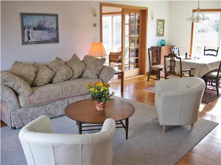 West Tisbury Martha's Vineyard vacation rental - Another view of living and dining room