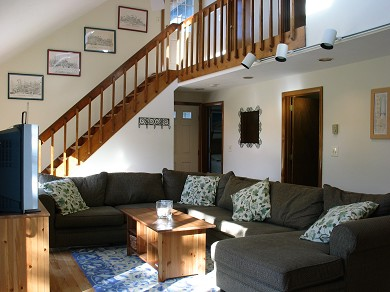Katama - Edgartown Martha's Vineyard vacation rental - Comfortable living area