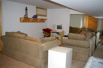 Vineyard Haven Martha's Vineyard vacation rental - Lower level family room