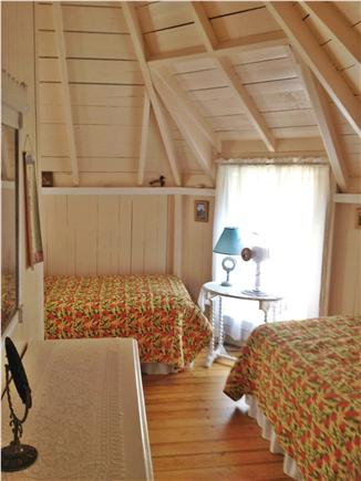 Oak Bluffs Martha's Vineyard vacation rental - Cozy bedroom with two twin size beds; equipped with dresser