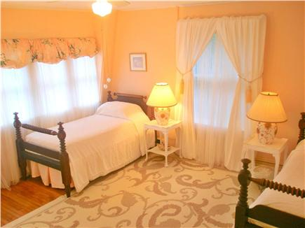 Oak Bluffs (East Chop) Martha's Vineyard vacation rental - Pink Room: Sunny & Light with a wall of windows & a large closet.