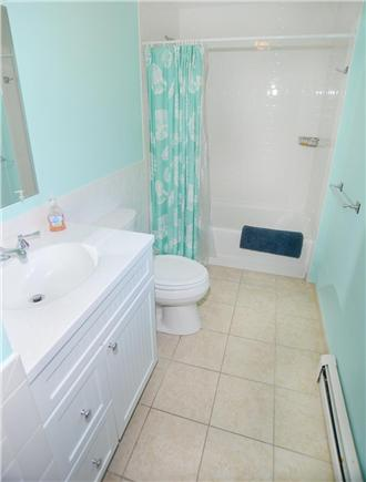 Katama - Edgartown Martha's Vineyard vacation rental - Brand new bath with imported tiles...