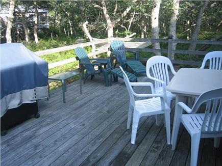 Edgartown Martha's Vineyard vacation rental - Back Deck