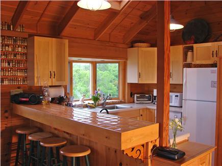 Chilmark Martha's Vineyard vacation rental - New kitchen appliances with breakfast bar