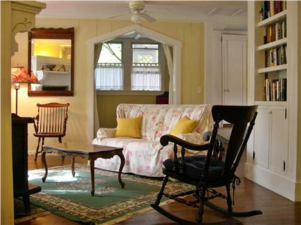 Oak Bluffs, Historic Copeland District Martha's Vineyard vacation rental - Living Room with Alcove