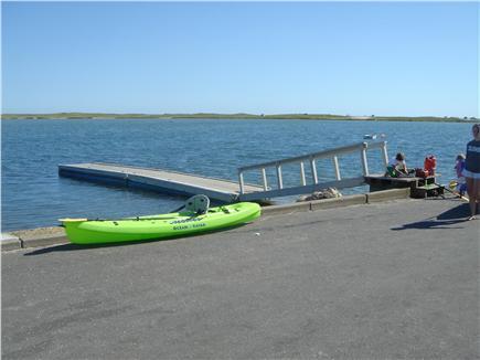 Katama - Edgartown, Edgartown Martha's Vineyard vacation rental - Boat launch 1/4 mile away at end of our street