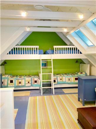 Katama - Edgartown, Edgartown Martha's Vineyard vacation rental - Third BR with Full Bath, Two Twin Beds, Queen Sofa Bed