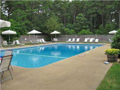 Vineyard Haven Martha's Vineyard vacation rental - Association pool & tennis courts are a short walk from the condo