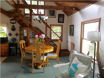 Oak Bluffs Martha's Vineyard vacation rental - Great Room with expandable table.