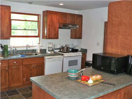Vineyard Haven Martha's Vineyard vacation rental - New birch and slate kitchen