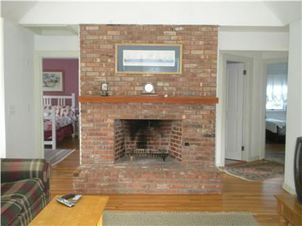 Katama - Edgartown, Edgartown/Katama Martha's Vineyard vacation rental - Living Area with fireplace