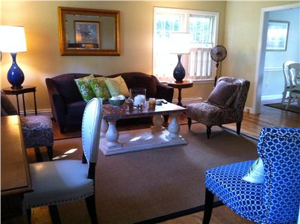 Edgartown Village Martha's Vineyard vacation rental - Spacious living room with LCD flat-panel TV