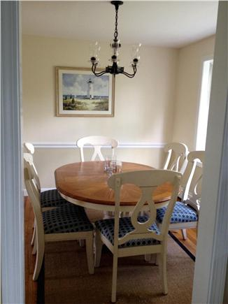 Edgartown Village Martha's Vineyard vacation rental - Dining room comfortably fits up to 8 guests