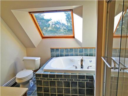 Oak Bluffs Martha's Vineyard vacation rental - …Master bathroom with Jacuzzi…