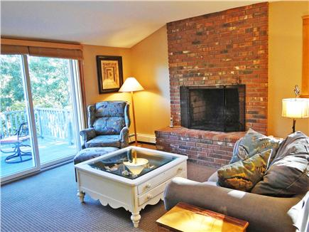 Oak Bluffs Martha's Vineyard vacation rental - ...sitting area, fireplace, television and private master deck!