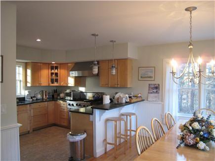 Oak Bluffs Martha's Vineyard vacation rental - Open kitchen and dining area