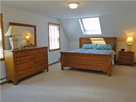 Edgartown Martha's Vineyard vacation rental - Upstairs Master bedroom with king bed, private bath