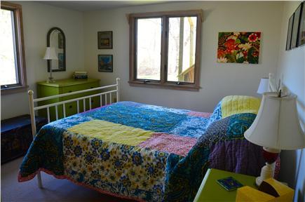Aquinnah Martha's Vineyard vacation rental - Ground Floor Bedroom: Queen bed