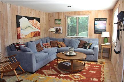 Aquinnah Martha's Vineyard vacation rental - Family room