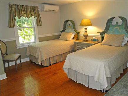 West Tisbury Martha's Vineyard vacation rental - The Carnival Room hosts two twin beds with adjacent full bathroom