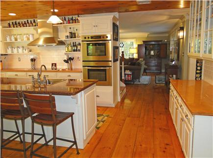 West Tisbury Martha's Vineyard vacation rental - Gorgeous upscale kitchen with stainless steel and granite