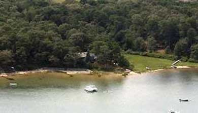 Vineyard Haven Martha's Vineyard vacation rental - Arial view of property