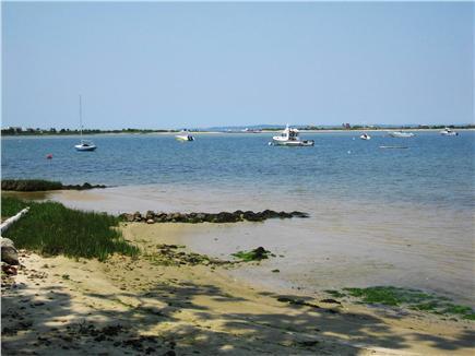 Vineyard Haven Martha's Vineyard vacation rental - Beach at low tide