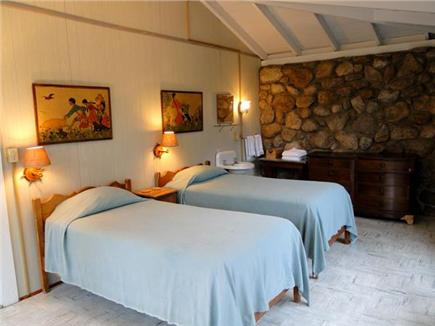 Vineyard Haven Martha's Vineyard vacation rental - Twin bedroom on main floor, with sink