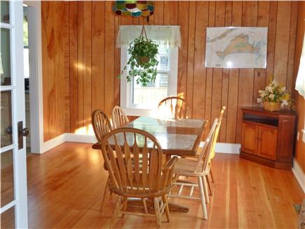 Oak Bluffs Martha's Vineyard vacation rental - Dining room, nice hardwood floors, seating for 6