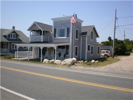 Oak Bluffs Martha's Vineyard vacation rental - House from beach bulkhead