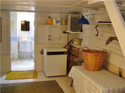 Oak Bluffs Martha's Vineyard vacation rental - Downstairs laundry & bathroom
