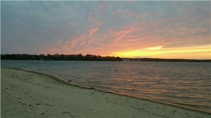 Oak Bluffs Martha's Vineyard vacation rental - Lagoon Beach offering nightly sunset