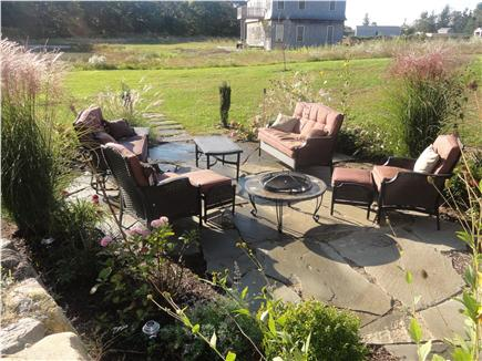 Oak Bluffs Martha's Vineyard vacation rental - Outdoor living area and fire pit
