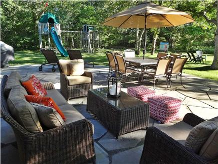 West Tisbury Martha's Vineyard vacation rental - Beautiful & private outside living space and playscape for kids