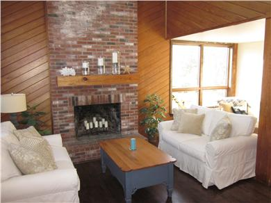 West Tisbury Martha's Vineyard vacation rental - Sit by the fireplace and relax