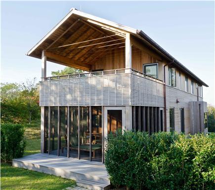 Chilmark Martha's Vineyard vacation rental - View of upper and lower decks