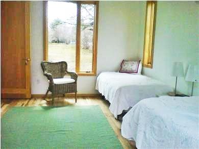 Chilmark Martha's Vineyard vacation rental - First floor den or bedroom  (Twin or King)