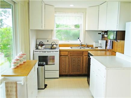 Oak Bluffs, Lagoon Pond Martha's Vineyard vacation rental - Adjacent to dining area, bright kitchen