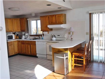 Katama - Edgartown Martha's Vineyard vacation rental - Eat-in kitchen with bar counter