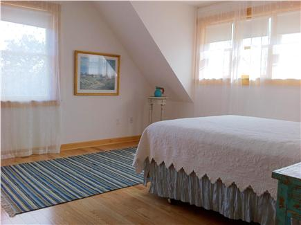 West Tisbury Martha's Vineyard vacation rental - Upstairs sunny 2nd master bedroom with private bath