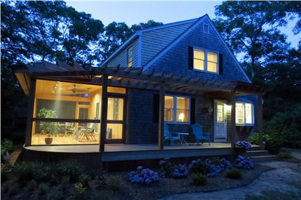 Vineyard Haven Martha's Vineyard vacation rental - Relax on the porch after a day in the sun!